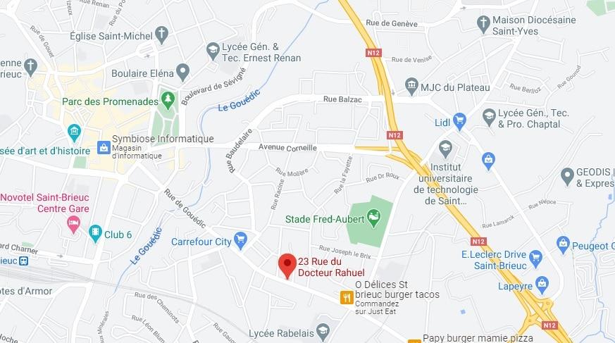 Contact - Adresse - Coordonnées - Elodie GUENEL - EFT